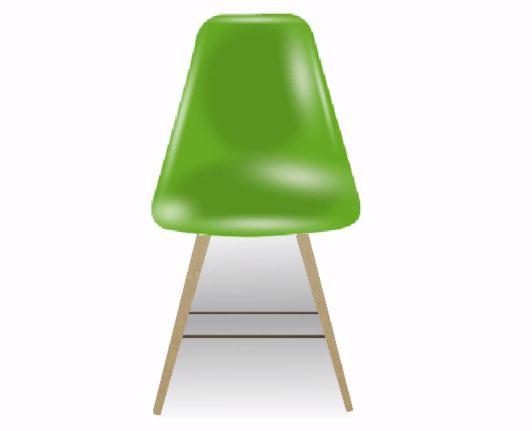おしゃれな椅子完成