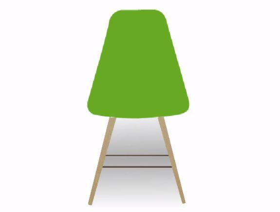 椅子の影と脚の添え木を付けます