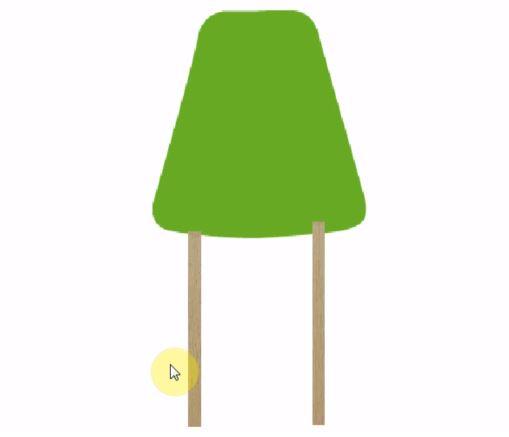 椅子の脚を作る