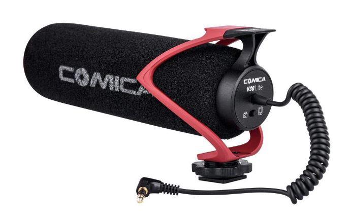Comica CVM-V30 LITEビデオガン外付けマイク高性能