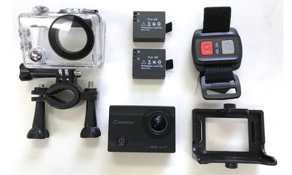 【動画 撮影】4K高画質のCrosstourアクションカメラを買ってみた