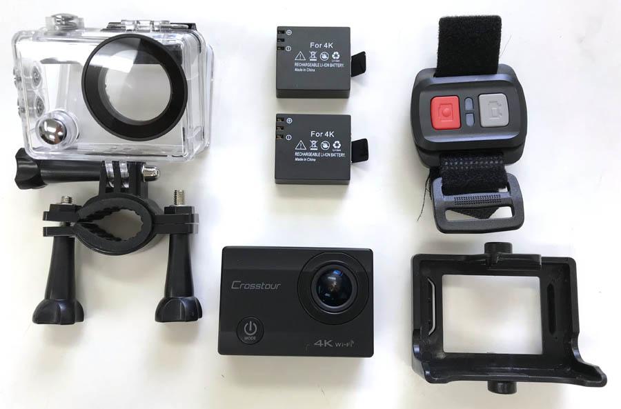 Crosstourアクションカメラの機能