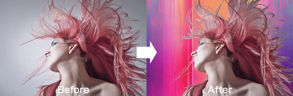 女性の髪もきれいに簡単に切り抜く方法
